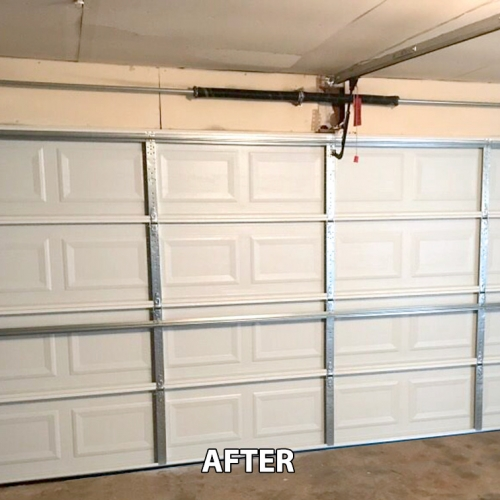 Garage Doors - Before and After