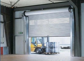 overhead roll up garage doors
