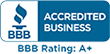 View our BBB accredited A+ rating status for garage door service in DFW (opens in a new tab)