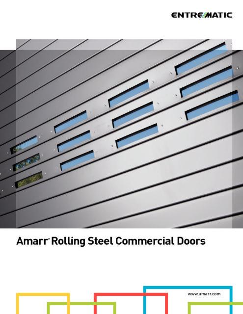 Brochure Amarr Comm Rollingsteel Complete Overhead Door