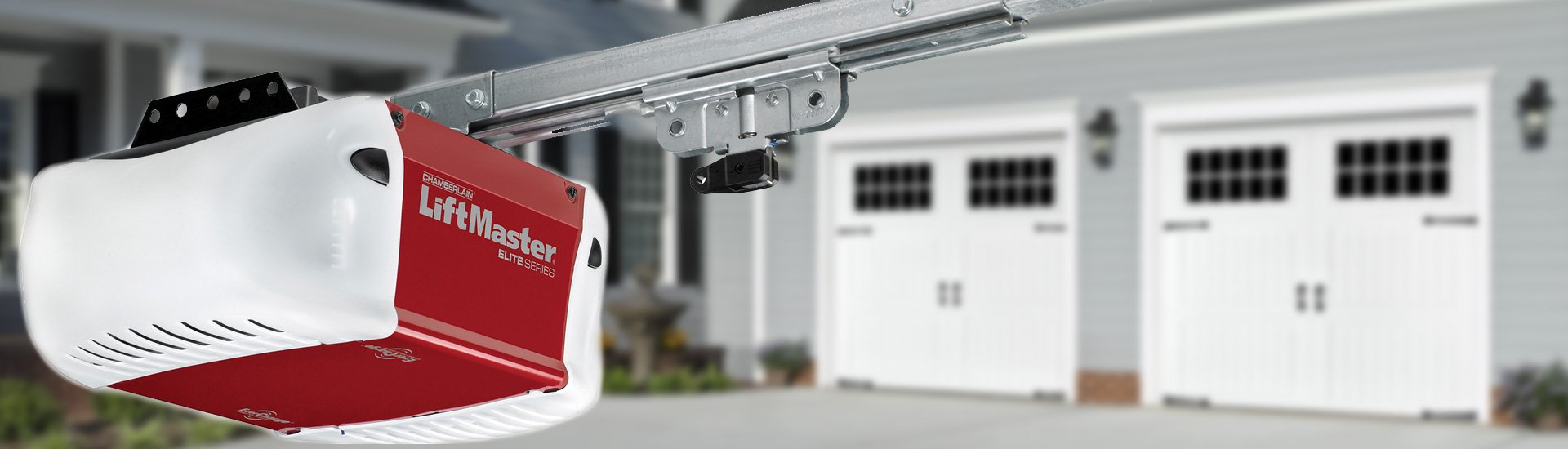 Residential commercial roll up garage doors for Garage door opens on its own
