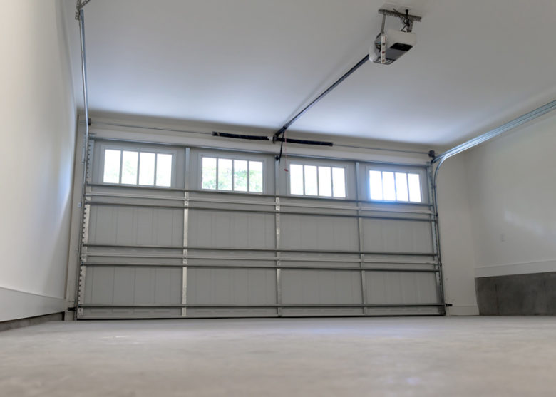 Overhead garage door opener in Lewisville, TX
