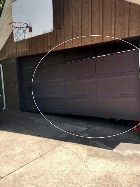 Broken Garage Door Complete Overhead Door