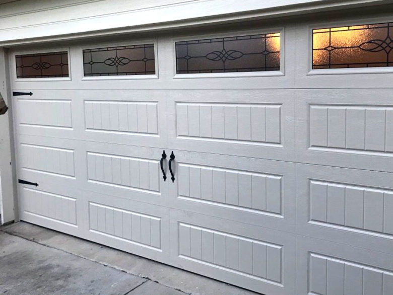 Dented Garage Replacement - After