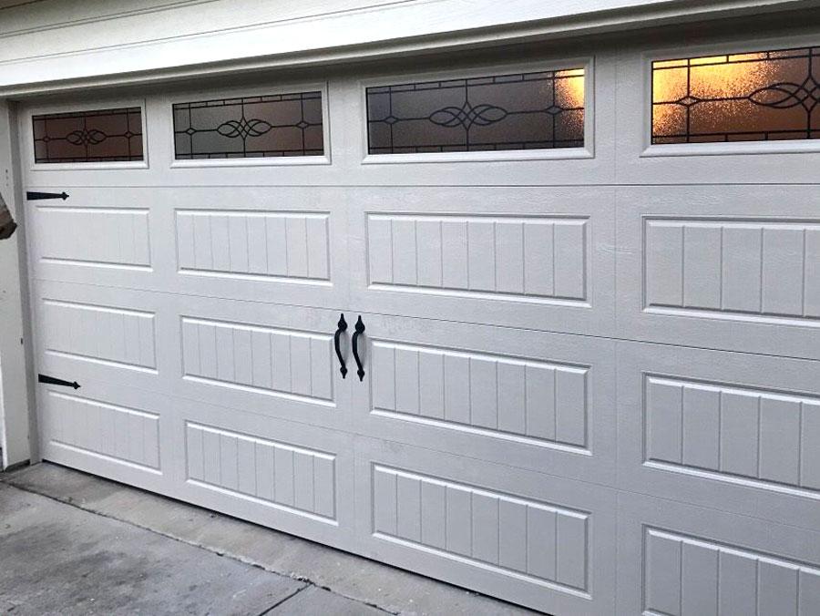 Dented Garage Replacement After 1 Complete Overhead Door