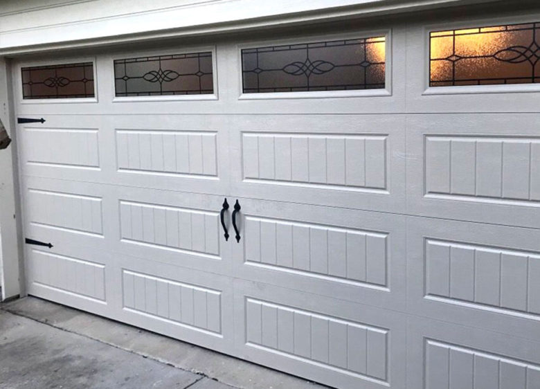 Garage door replacement in Garland