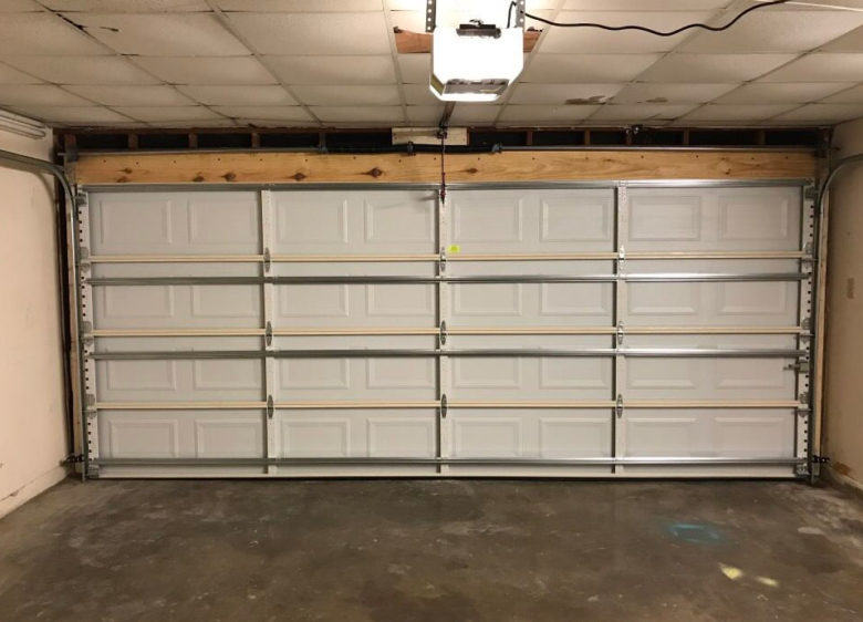 Interior Garage Door - After