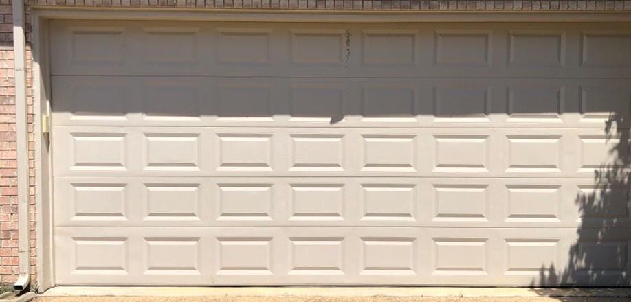 Residential Garage Door Fixed After Bnr Complete