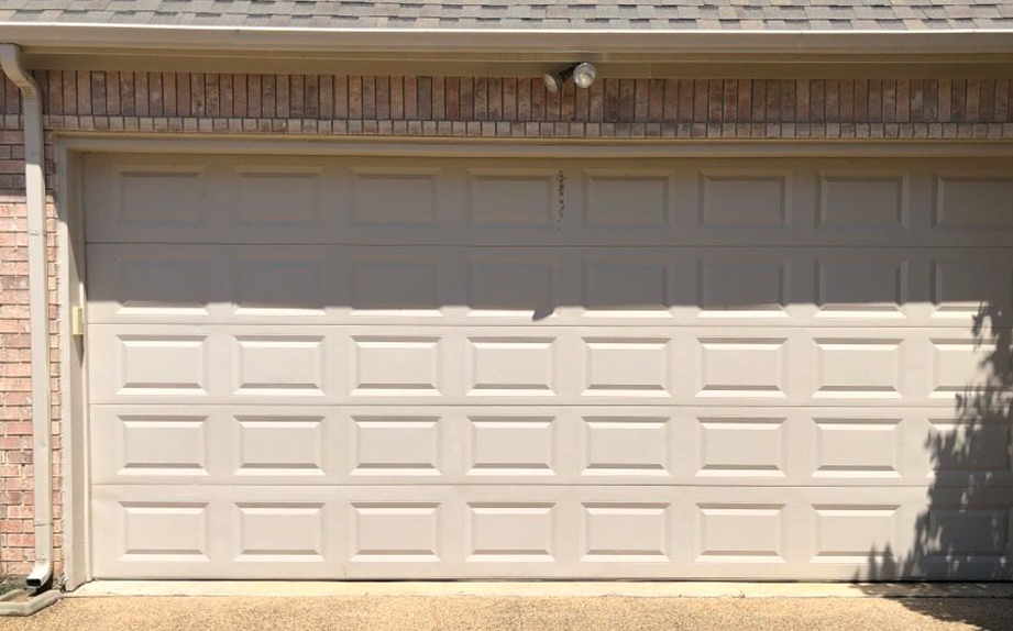 fixed garage door